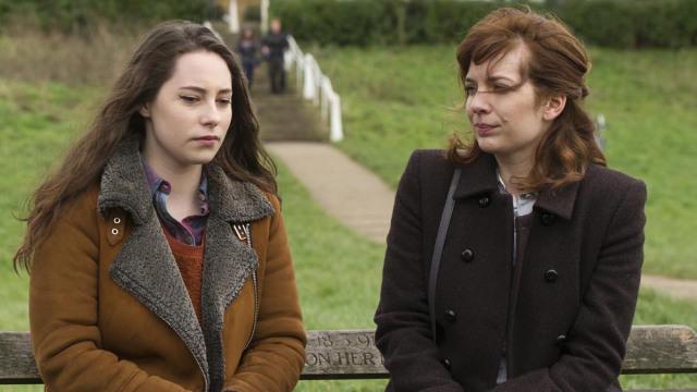 Episode 6.L-R Mattie (Lucy Carless) and Laura Hawkins (Katherine Parkinson)