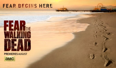 AMC's Fear The Walking Dead Season 1 promo poster