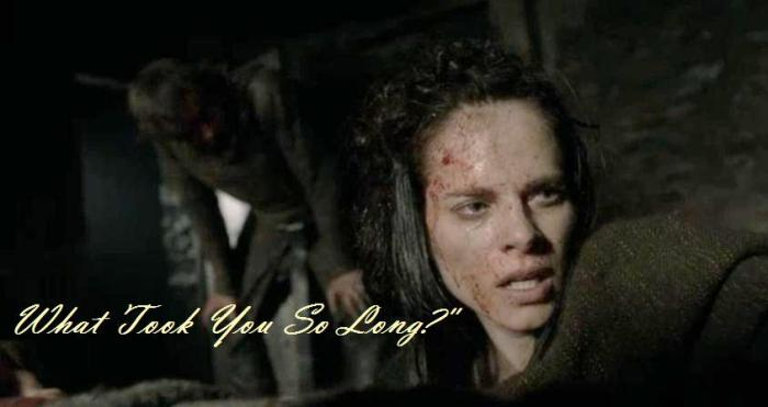 Amy Bailey stars as Queen Kwenthrith in Episode 2 Season 4 of Vikings