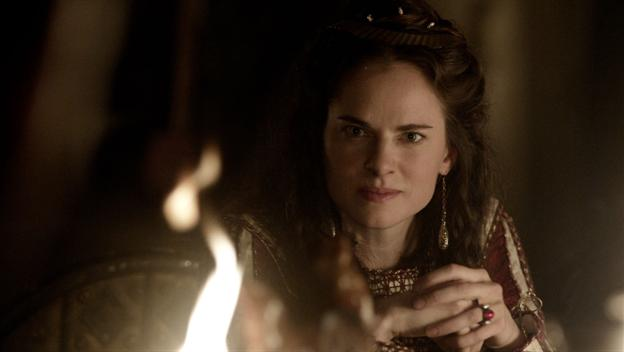 Amy Bailey stars as Queen Kwenthrith in season 4 of History Channel's Vikings