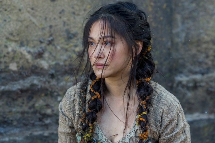 Dianne Doan stars as Yidu in Season 4 of History Channel's Vikings