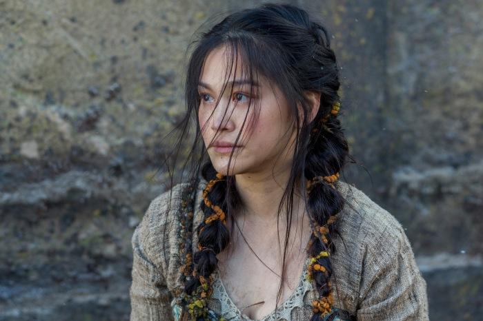 Dianne Doan stars as Yidu in Season 4 of History Channel's Vikings