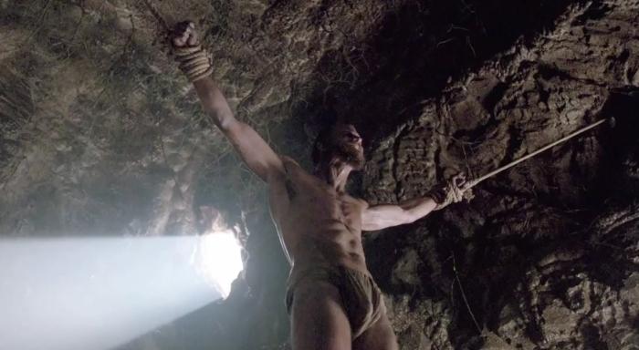 Floki (Gustaf Skarsgard) gets punished in Episode 2 of season 4 of History Channel's Vikings