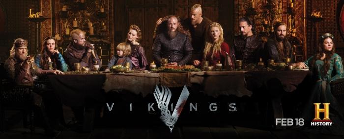 History Channel's Vikings Season 4 promo poster