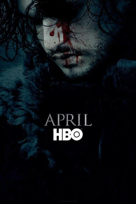 HBO's Game of Thrones Season 6 promo poster Jon Snow