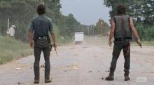 Rick and Daryl's Excellent Adventure begins in Episode 10 Season 6 of AMC's The Walking Dead