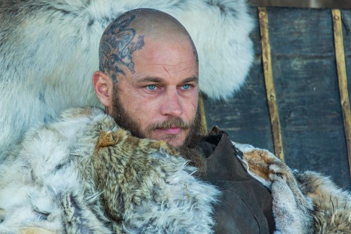 Travis Fimmel stars as Ragnar Lothbrok in Season 4 of History Channel's Vikings