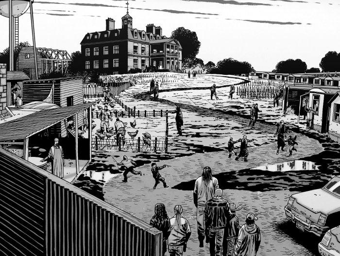 TWD Hilltop Colony Comic