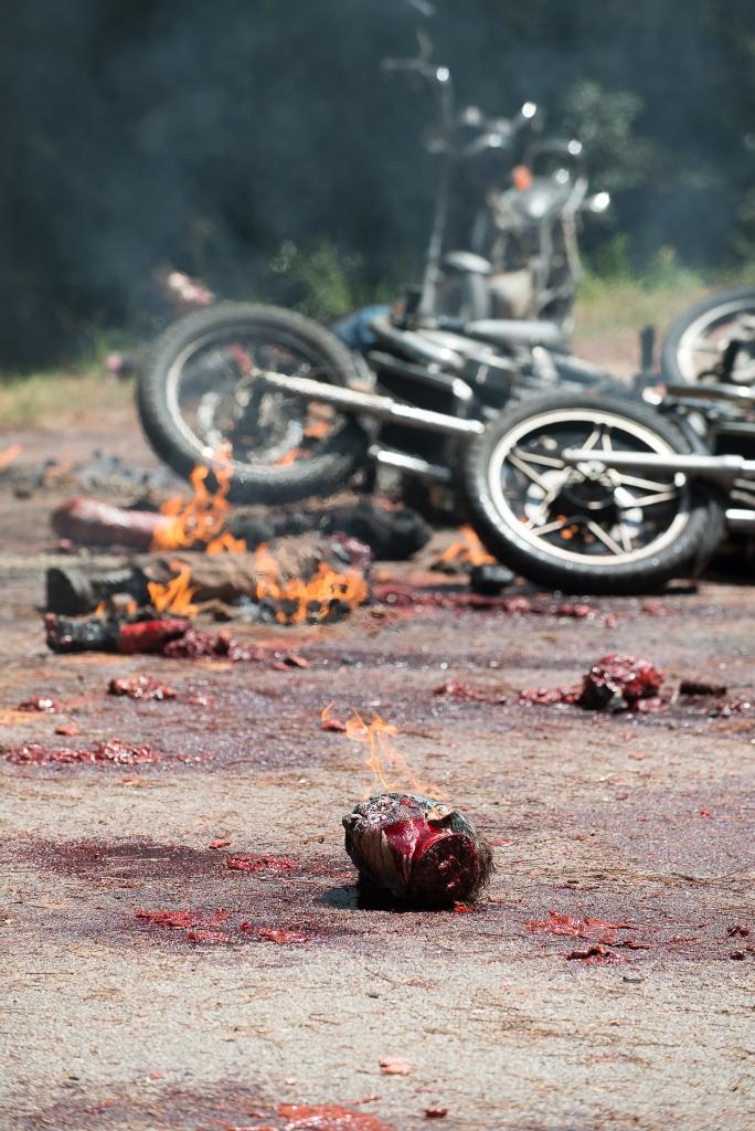 Behind the Scenes - The Walking Dead _ Season 6, Episode 9 - Photo Credit: Gene Page/AMC