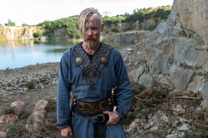 Vikings Season 4 Halfdan the Black played by Jasper Pääkkönen