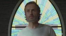 Andrew Lincoln stars as Rick Grimes in Season 6 Episode 12 of AMC's The Walking Dead