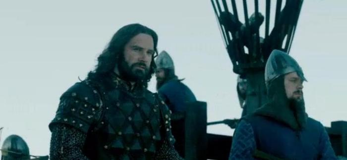 History Channel's Vikings Season 4 Episode 7 Rollo's Oh Shit face
