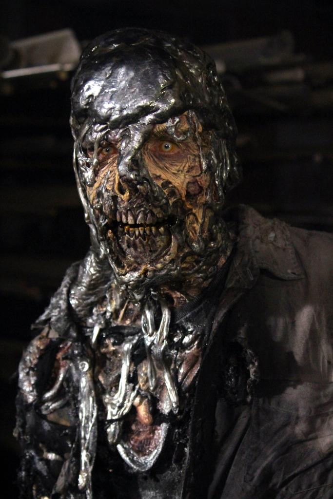 """Lead-Head walker stars in Episode 14 (""""Twice As Far"""") Season 6 of AMC's The Walking Dead"""