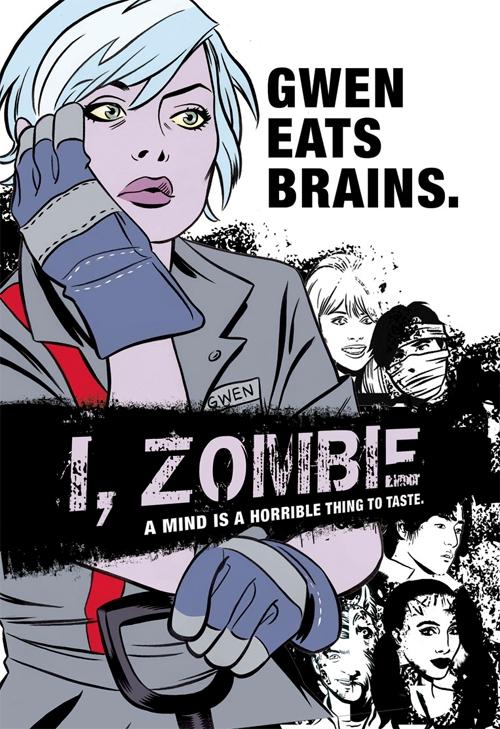 iZombie comic cover by Vertigo
