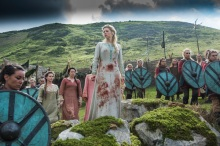 Lagertha is crowned Earl Ingstad once more in Season 4 Episode 5 Promised of History Channel's Vikings