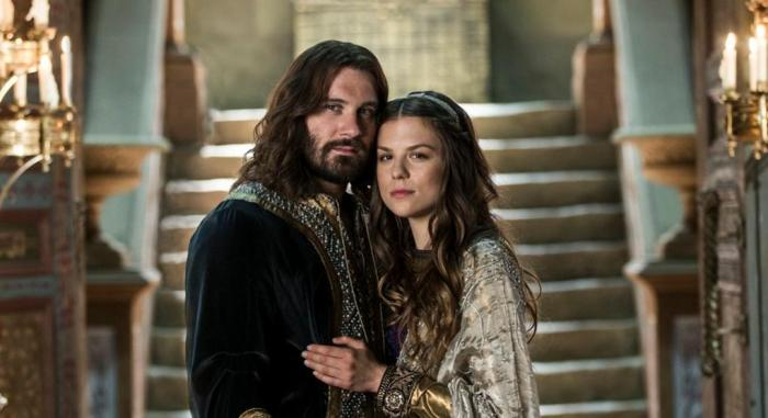 Rollo and Gisla in Episode 5 Promised Season 4 of History Channel's Vikings