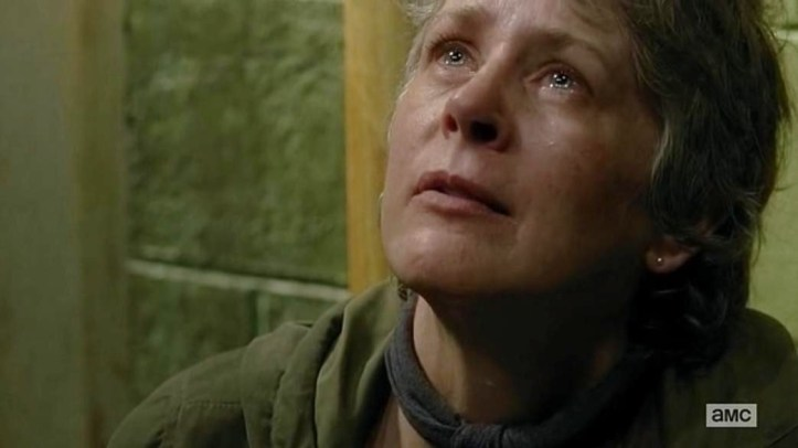 "Carol stars in Episode 13 (""The Same Boat"") Season 6 of AMC's The Walking Dead"