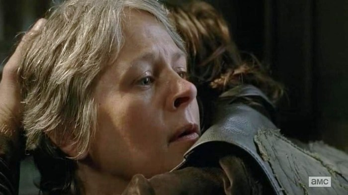 "Caryl Episode 13 (""The Same Boat"") Season 6 of AMC's The Walking Dead"