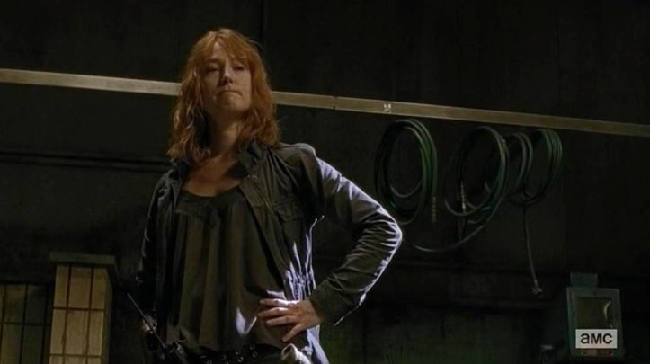 "Paula stars in Episode 13 (""The Same Boat"") Season 6 of AMC's The Walking Dead"