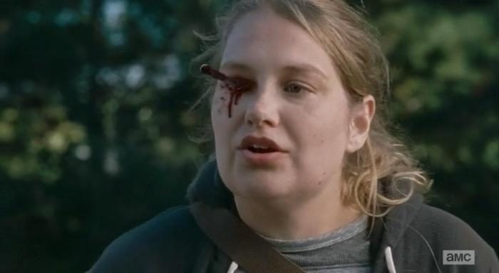 "Merritt Wever stars as Denise Coyd in Episode 14 (""Twice As Far"") Season 6 of AMC's The Walking Dead"