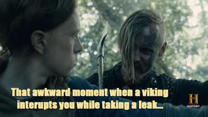 Vikings Season 4 Episode 6 Halfdan the Black text