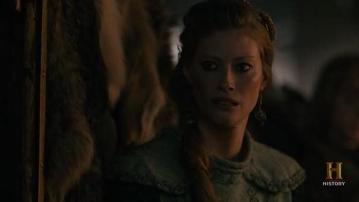Vikings Season 4 Episode 6 What Might Have Been Aslaug's pissy face