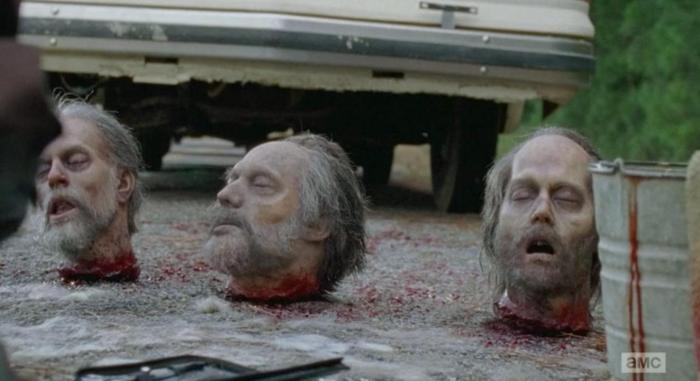 Which walker head will it be in Season 6 Episode 12 of AMC's The Walking Dead