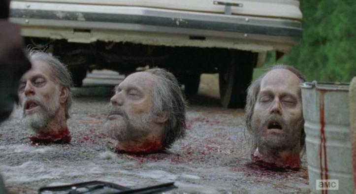 Which walker head will it be in Season 6 Episode 12 of AMC's The Walking Dead