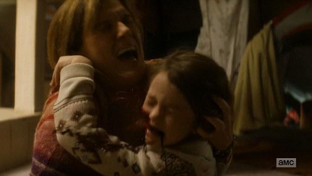 """Little zombie girls unite! Fuck Rick Grimes!"""