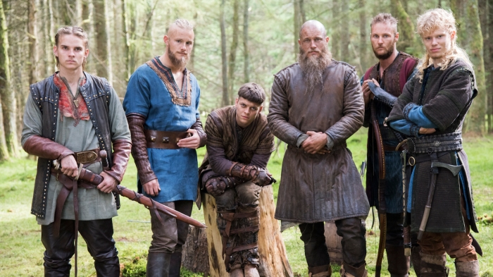 History Channel Vikings Season 4 Ragnar and his grown up sons