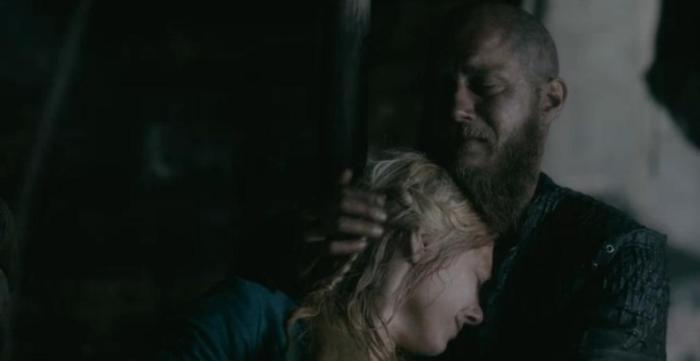 History Channel's Vikings Season 4 Episode 9 Lagertha and Ragnar