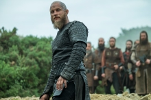 History Channel Season 4 EPisode 8 Ragnar Lothbrok as played by Travis Fimmel