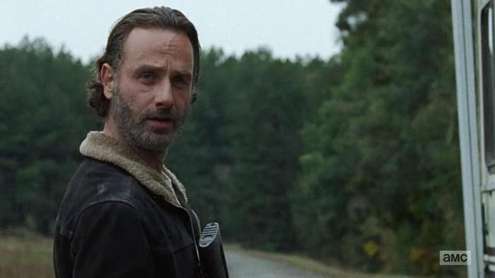 The Walking Dead Season 6 Finale Episode 16 Last Day On Earth Rick says ep title