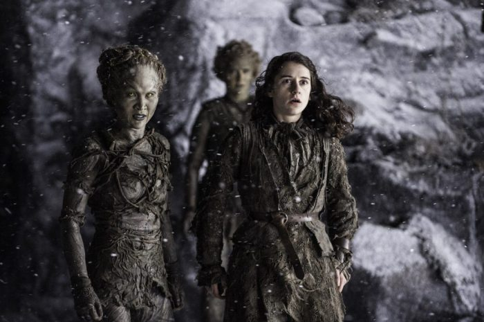 HBO's Game of Thrones Season 6 Episode 5 The Door the children and Meera