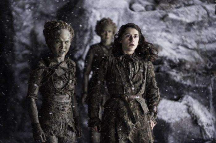 HBO's Game of Thrones Season 6 Episode 5 The Door the children and Meera