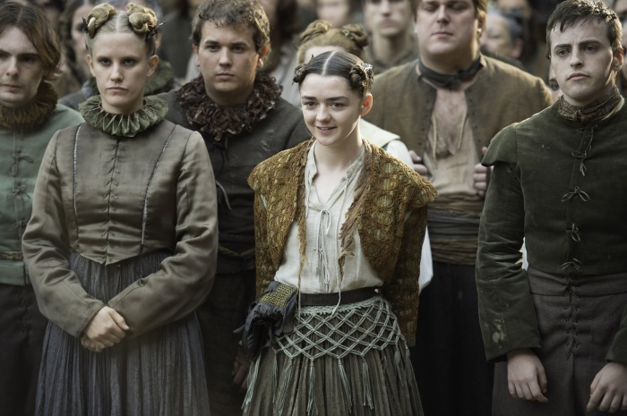 HBO's Game of Thrones Season 6 Episode 6 Blood of my Blood Arya Stark