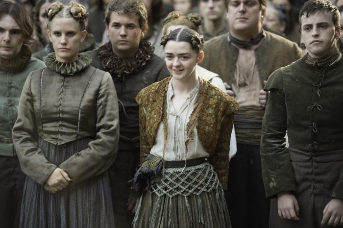HBO's Game of Thrones Season 6 Episode 6 Blood of my Blood Arya Stark