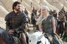HBO's Game of Thrones Season 6 Episode 6 Blood of my Blood Daenerys Targaryen and Daario