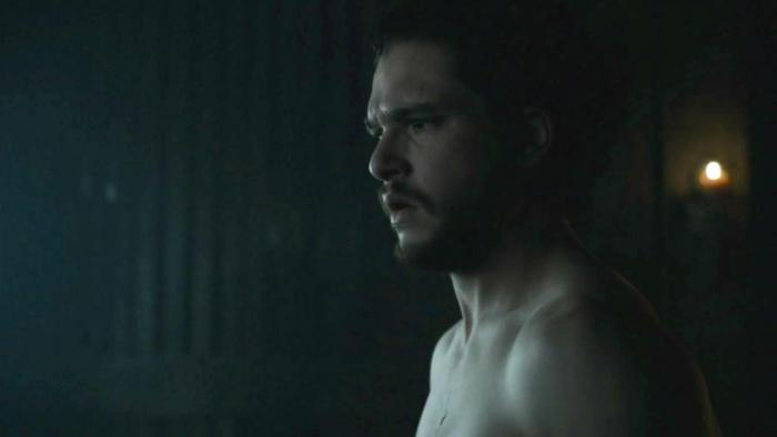 Jon Snow still knows nothing other than the fact he has a tiny pee pee in Episode 3 of HBOs Game of Thrones Season 6