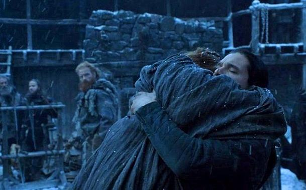 Sansa Stark and Jon Snow are reunited in Episode 4 of HBOs Game of Thrones Season 6