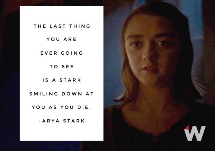 HBO's Game of Thrones Season 6 Episode 10 The Winds of Winter Arya Stark Credit The Wrap