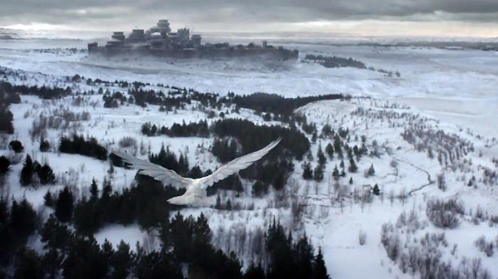 HBO's Game of Thrones Season 6 Episode 10 The Winds of Winter white raven