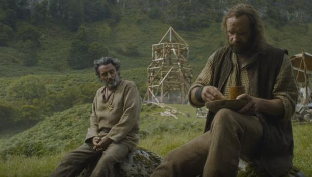 HBO's Game of Thrones Season 6 Episode 7 The Broken Man Brother Ray and The Hound