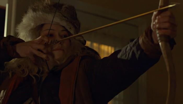 """""""Jesus bring comfort; I bring arrows."""""""