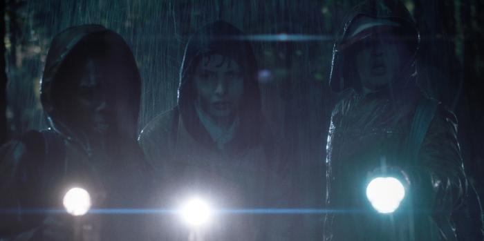 Netflix Stranger Things Season 1 Episode 1 Boys in the rain