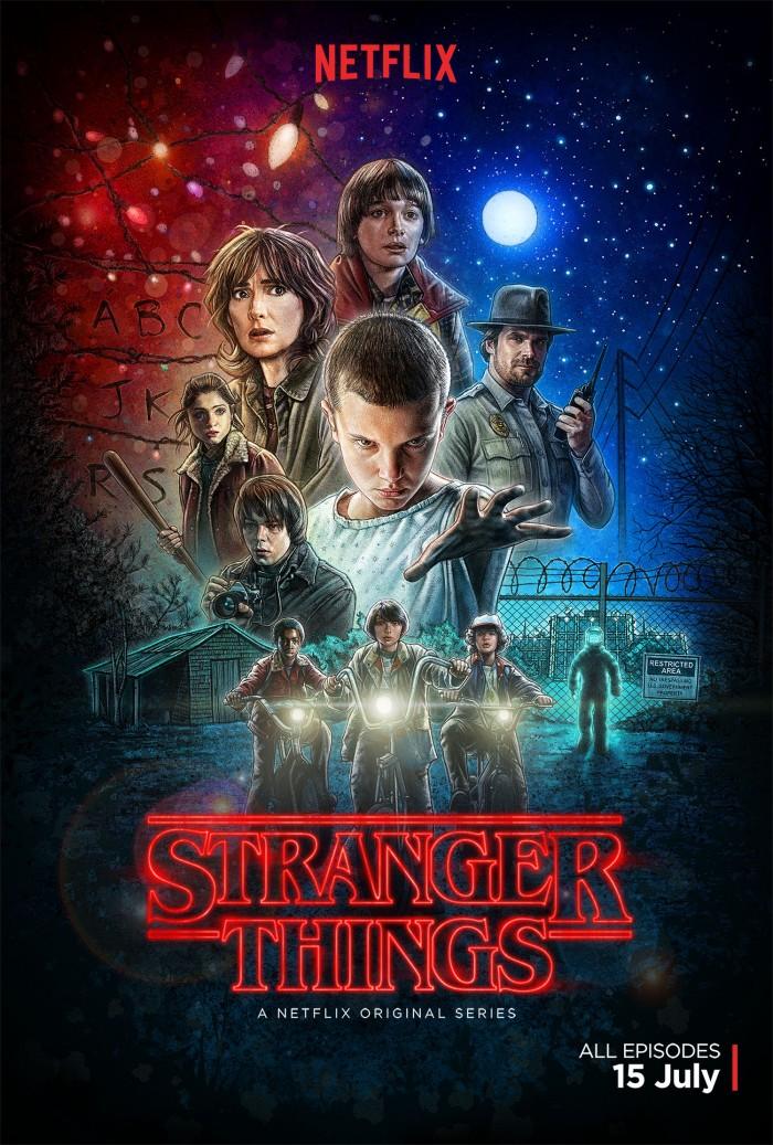 Netflix's Stranger Things Season 1 poster