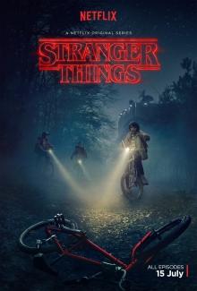 Netflix's Stranger Things Season 1 key artwork