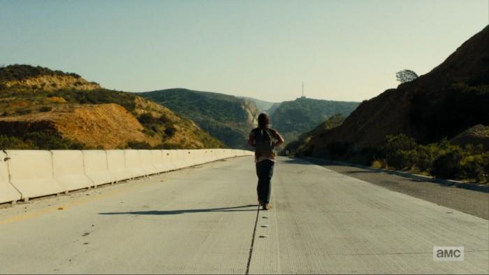 On the road again... [Image via AMC] #FearTheWalkingDead #Season2 #Grotesque