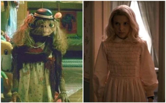 Netflix's Stranger Things Season 1 Episode 4 Eleven vs E.T.