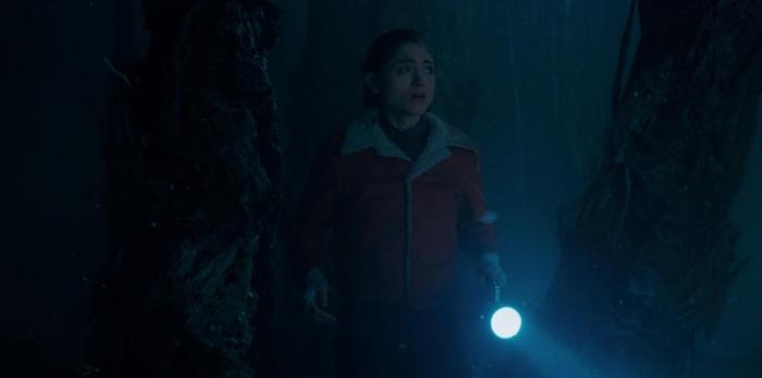 Netflix's Stranger Things Season 1 Episode 5 The Flea and the Acrobat Nancy in the Upside Down
